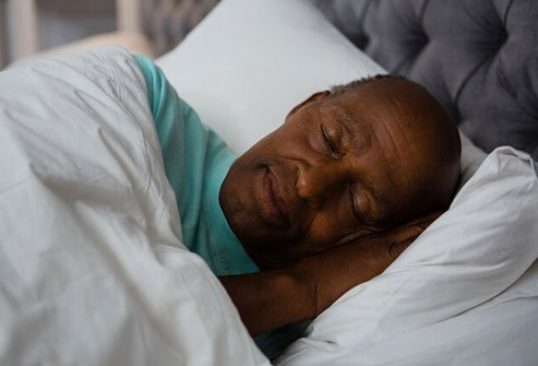 It may get harder for you to sleep through the night as you get older.