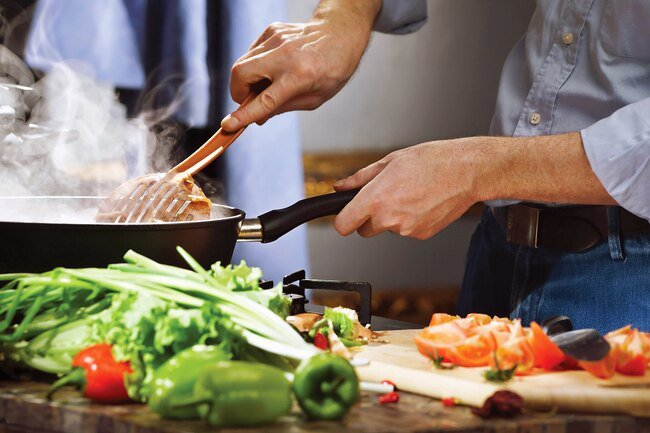 Eating warm foods will help keep your core body temperature up.