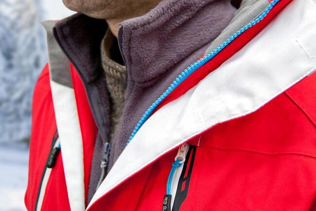 Dress in light layers underneath a heavier jacket or sweater to stay warm.