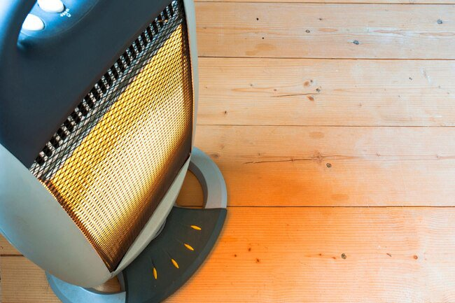 Use space heaters to heat your immediate area or room.