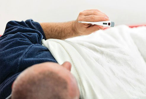 Fever increases strain on your body and may produce heart palpitations.