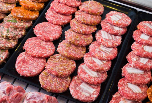 Ground beef is prone to spoilage so it's best to buy it frozen or freeze it shortly after you buy it.