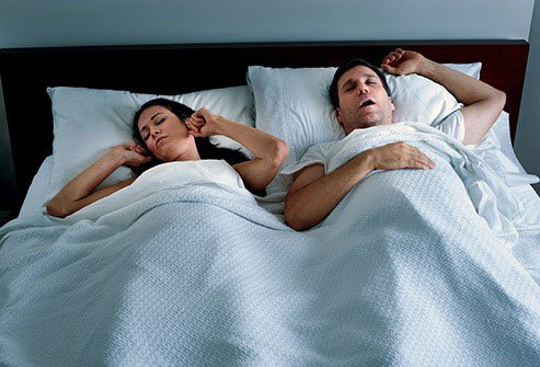 This makes your throat muscles relax too much and stops your breathing briefly, but repeatedly, as you sleep.
