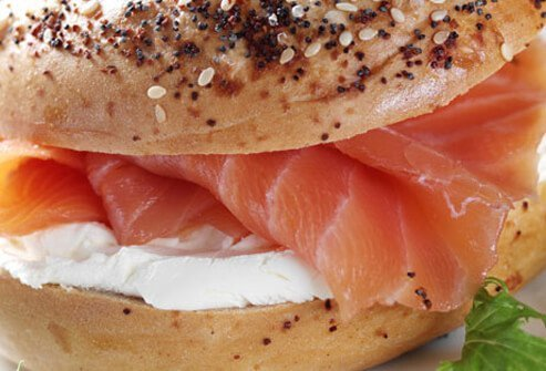 When you're expecting, it's best to skip the lox on your morning bagel.