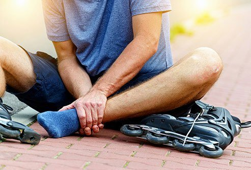 If you think you have a broken bone, see a doctor as soon as possible.