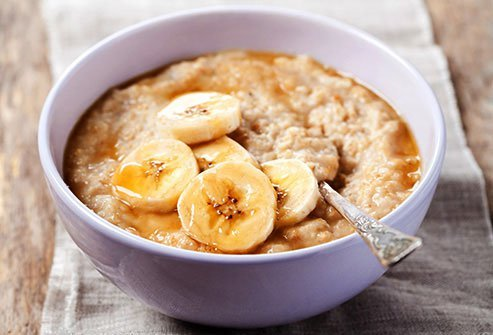 Bananas have a good amount of sugar so just eat a few slices if you're watching your sugar intake.