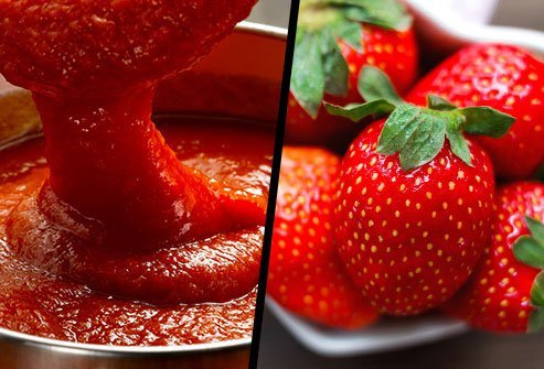 Jarred Tomato Sauce or Strawberries