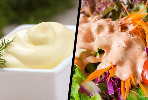 Mayonnaise or Creamy Salad Dressing?