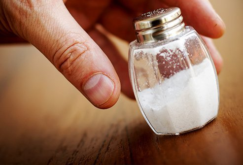 Salt contributes to fluid retention, and can leave you belly bloated.