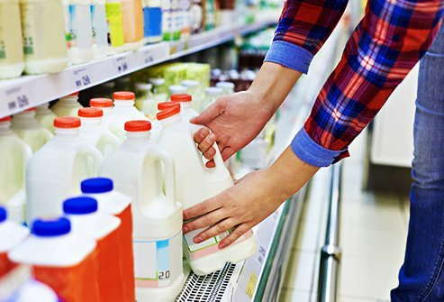 Dairy products can cause painful gas in those with lactose intolerance.