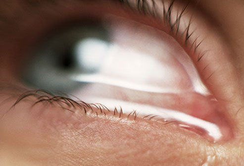 When something gets in your eye a speck of dirt, dust, an eyelash your body makes more tears to flush it out.