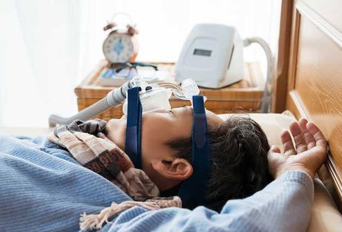 Sleep apnea interferes with your body's ability to make antidiuretic hormone (ADH) that helps you hold on to water.
