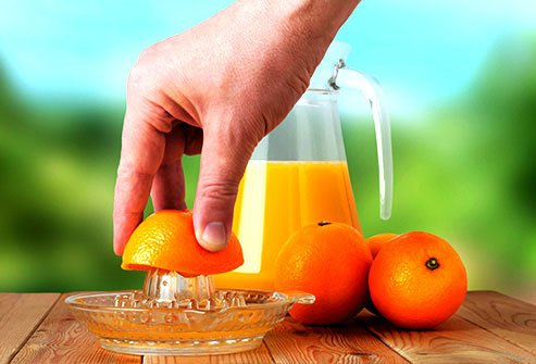 Oranges serve up potassium, but they are also high in sugar.