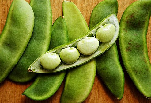 Soak lima beans overnight to make them more easily digestible.