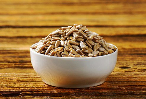 Sunflower seeds are another food that you can eat for low potassium symptoms.