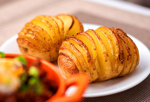Potatoes are one of the foods highest in potassium.