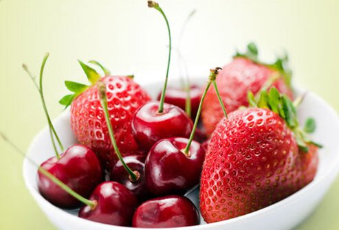 Fresh fruit is available at many restaurants now, even fast-food chains, thanks to demand from health-conscious diners.