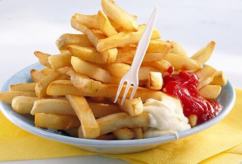 In a pinch, you might think that just one order of fries -- and nothing else -- would be OK.