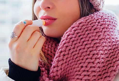 Cracked lips can come from cold weather, allergic reactions, and eczema.